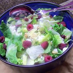 Deliciously Sweet Salad with Maple, Nuts, Seeds, Blueberries, and Goat Cheese Traci-in-Cali