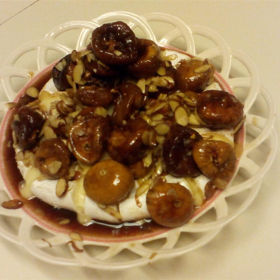 Figs and Toasted Almonds Brie Celeste Taylor