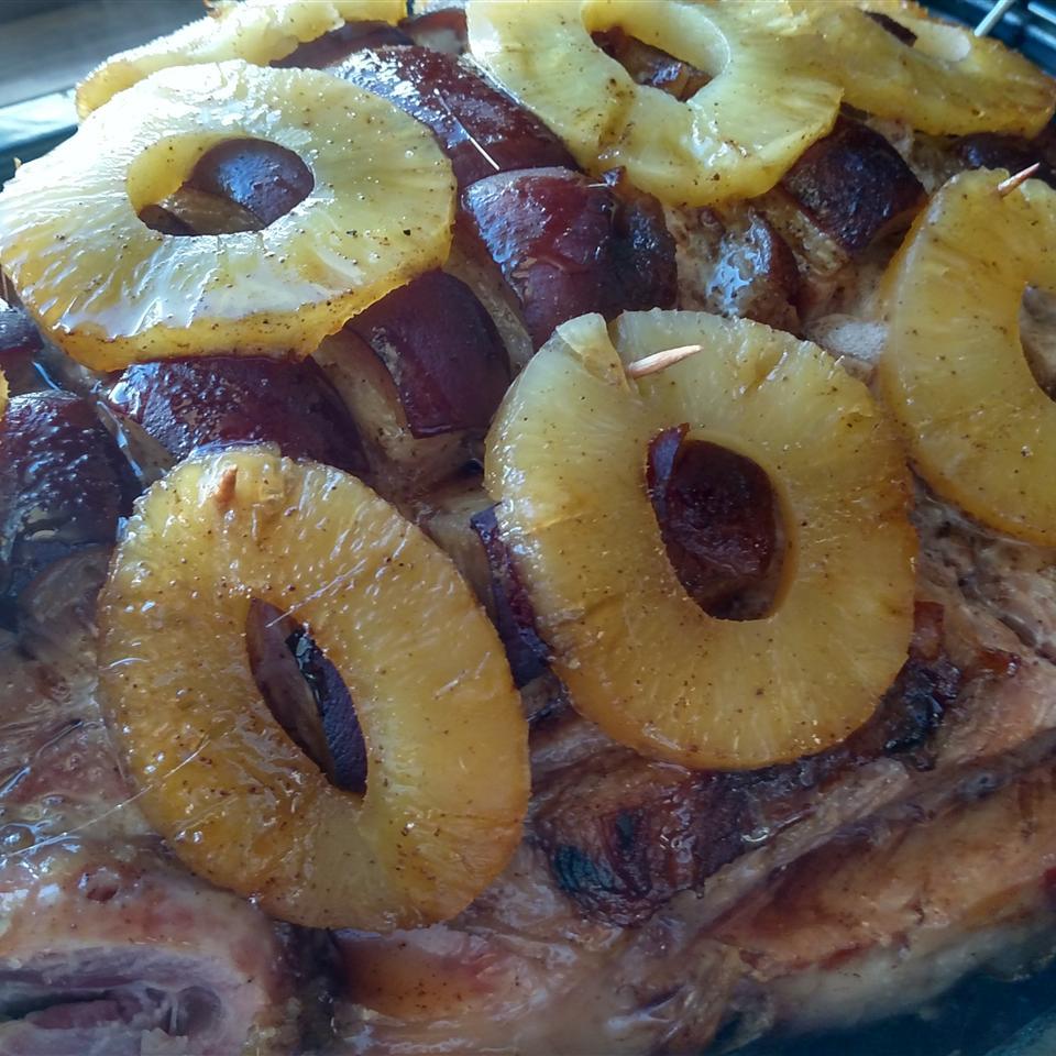 Bone-In Ham Cooked in Beer