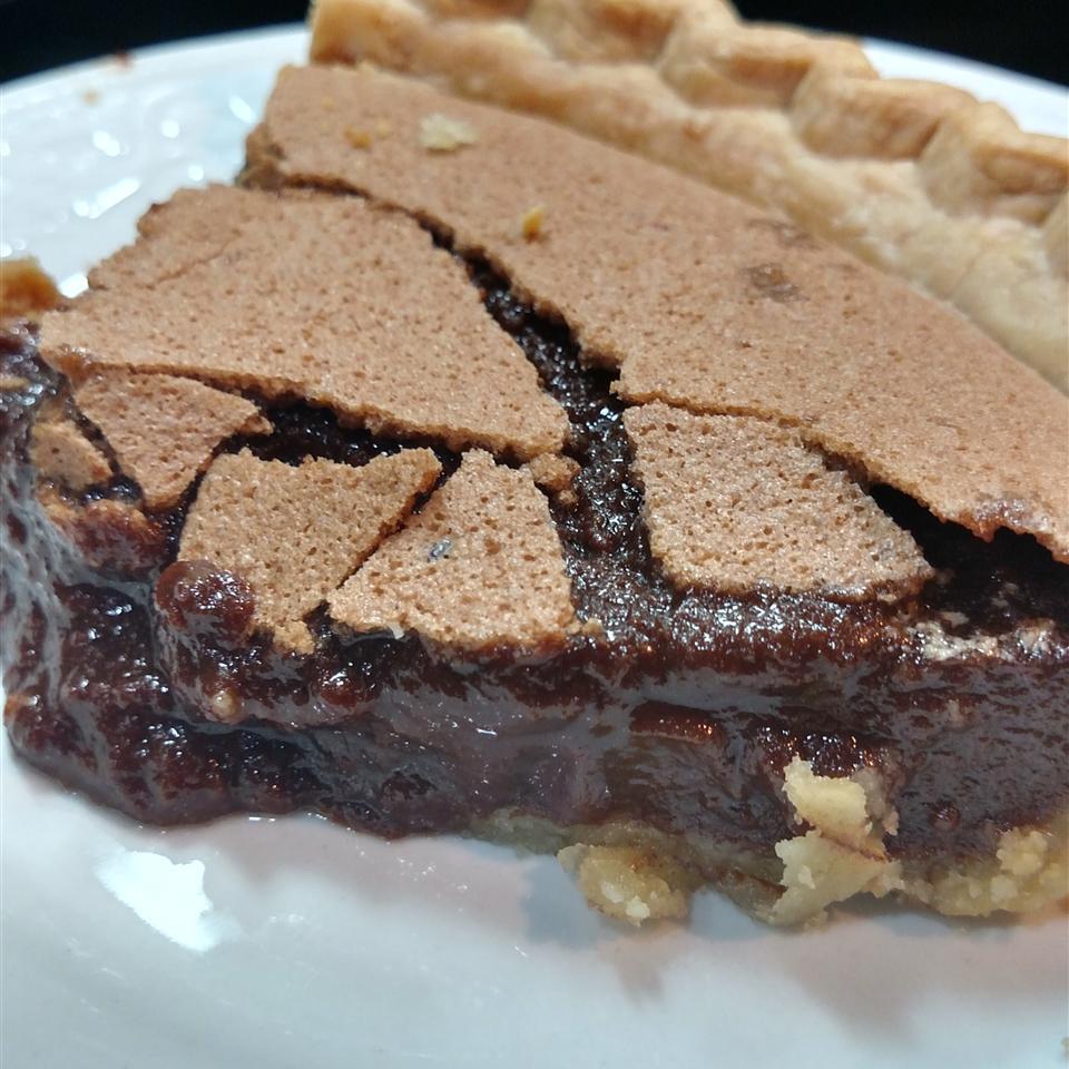 Chocolate Chess Pie II