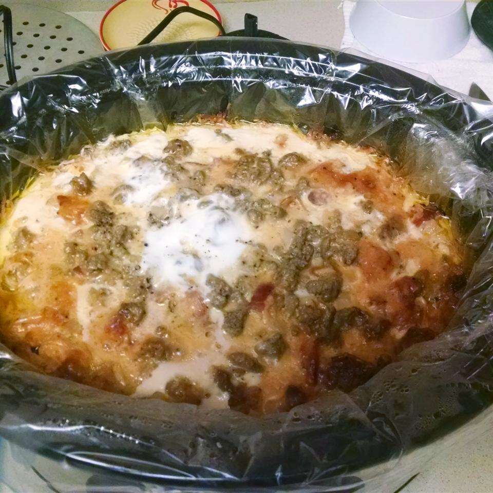 Slow Cooker Egg Brunch Casserole