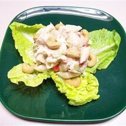Chicken Cashew Salad Jakeberry