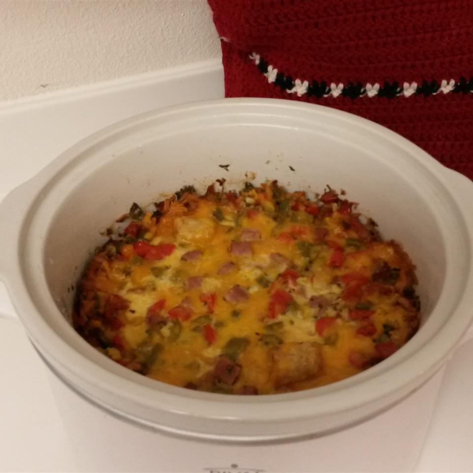 Slow Cooker Egg Brunch Casserole BonisMama