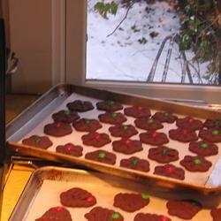 Chocolate Press Cookies squawk93