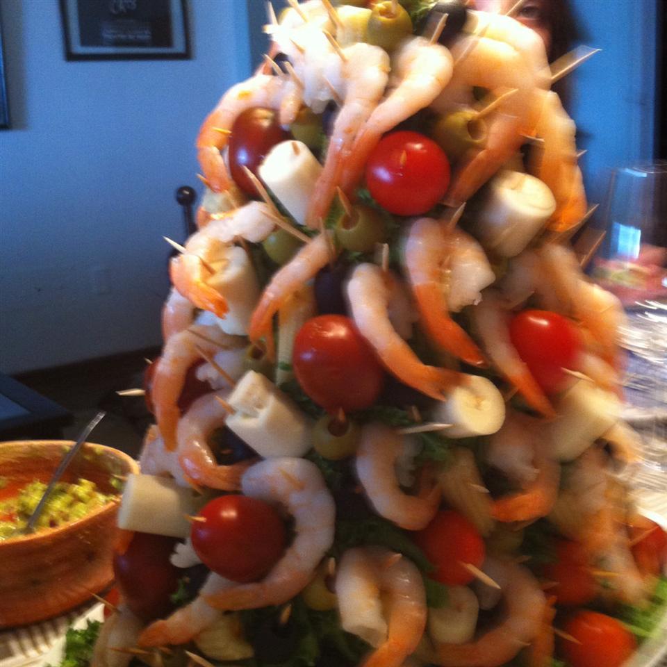 Mary's Christmas Shrimp Tree skfr