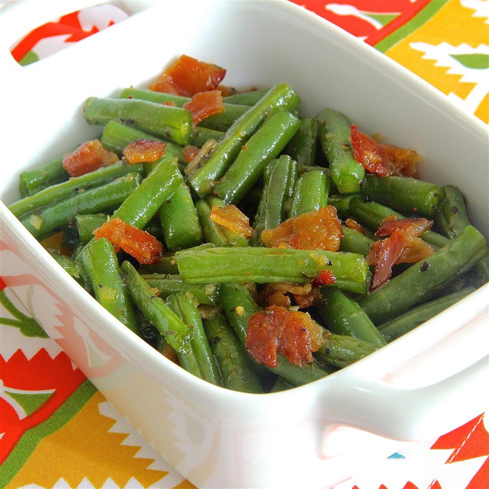 Brown Sugar n' Bacon Green Beans