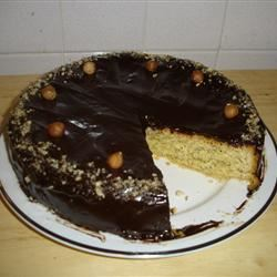 Norwegian Hazelnut Cake