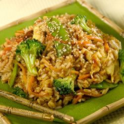 Fried Rice with Ginger, Hoisin, and Sesame Trusted Brands