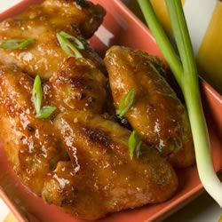 Ginger Orange Glazed Chicken Wings Trusted Brands