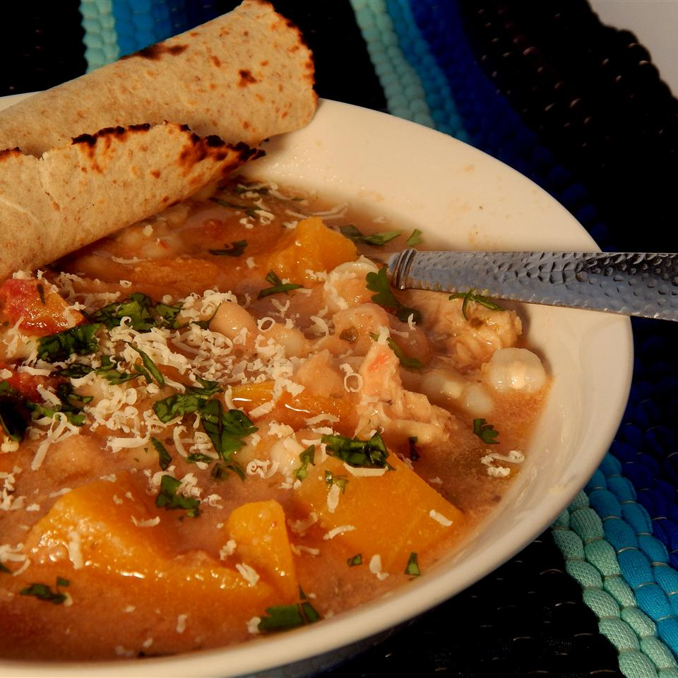 Chicken Butternut Squash Posole