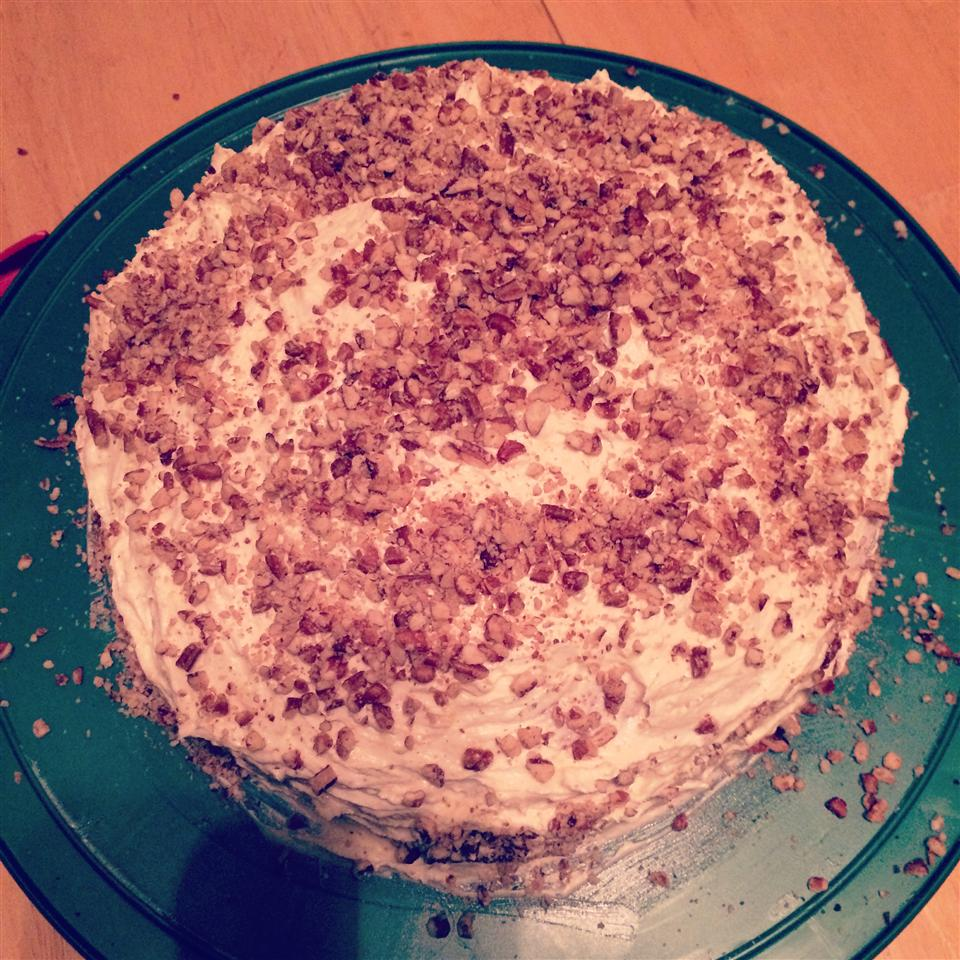 Deep South Eggnog Cake Carissa Rashea
