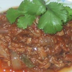 Steamed Tuna sueb