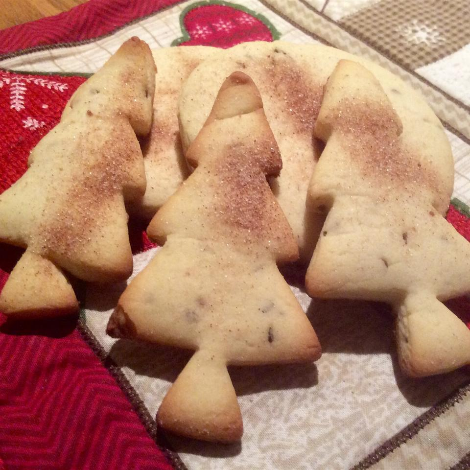 Crisp Anise Seed Butter Cookies