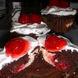 PHILLY Blackforest Stuffed Cupcakes Christina Rust