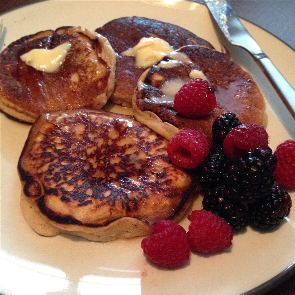 Easy Eggnog Pancakes Rinny