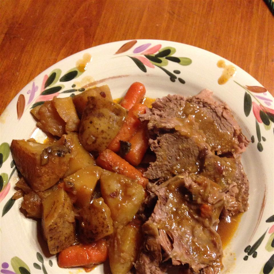 Pot Roast, Vegetables, and Beer