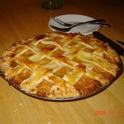 Fresh Peach Pie II