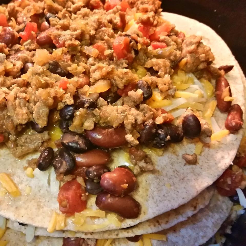 Easy Slow Cooker Enchiladas