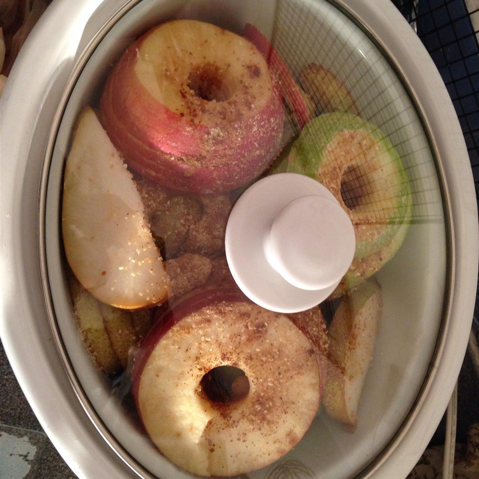 Slow Cooker Cider Applesauce (No Sugar Added) Sailerbabe