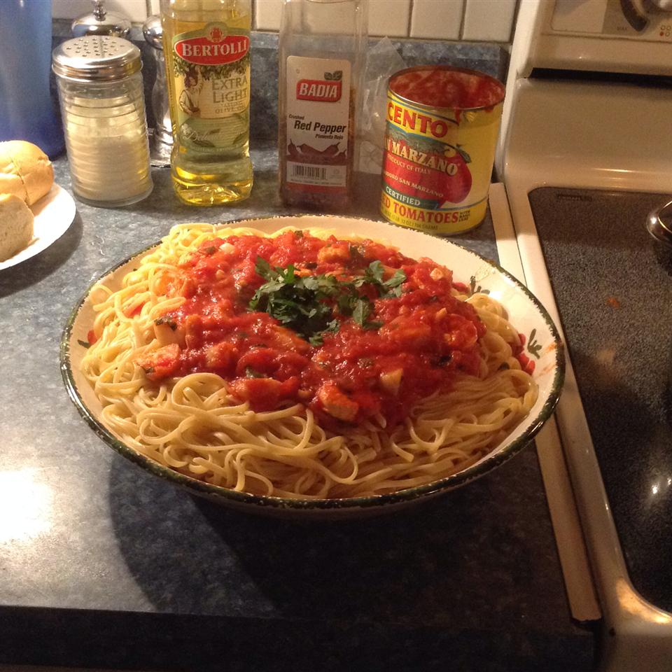 Fra Diavolo Sauce With Pasta joe