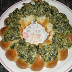 Slow Cooker Creamed Spinach Grrrama