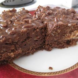 Double Chocolate Crumble Bars
