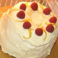 Rainbow Sherbet Cake