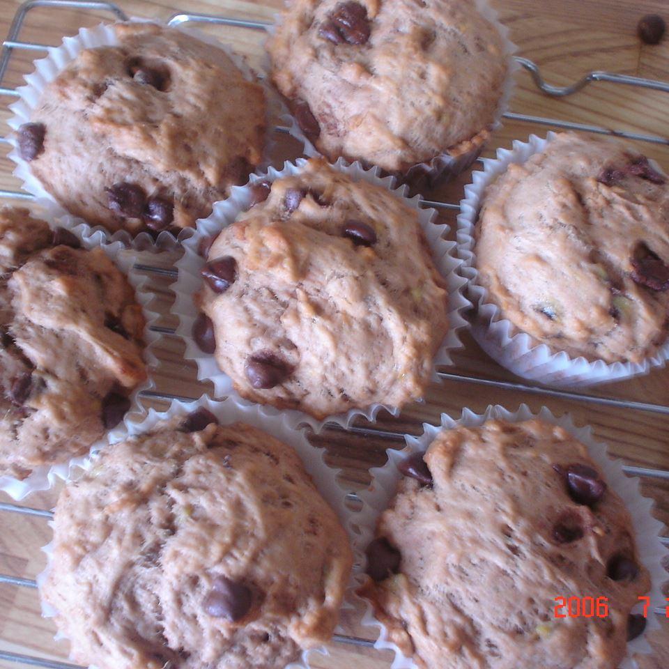 Banana Chocolate Chip Muffins Liz
