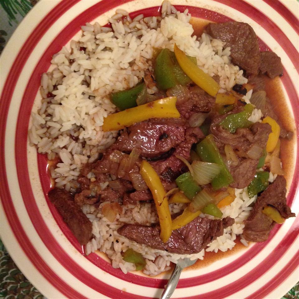 Maria's Pepper Steak sslonka