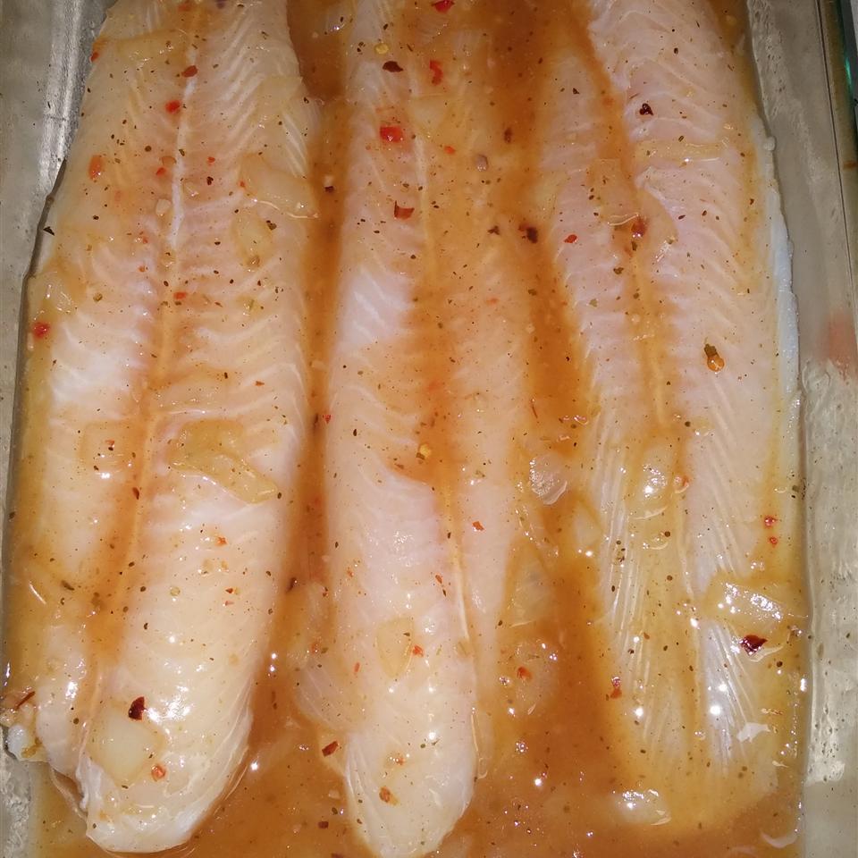 Seasoned Swai Fish Fillet