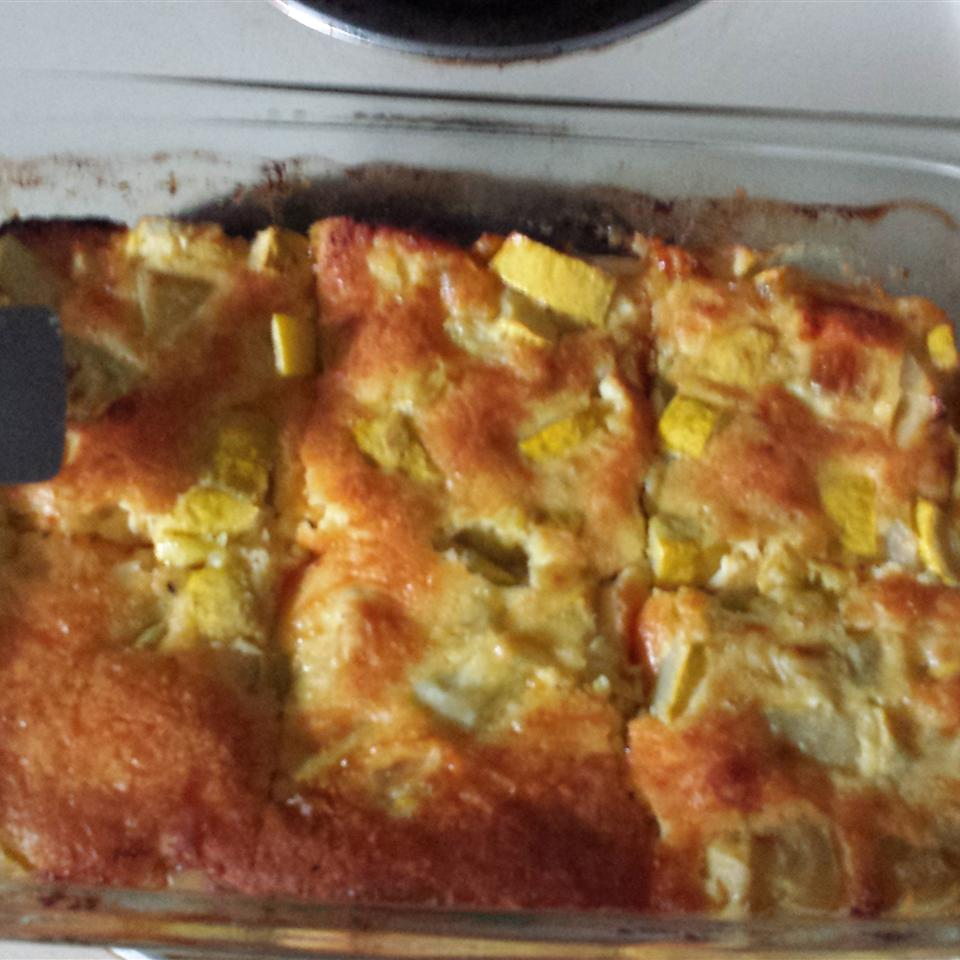 Squash, Egg, and Cheese Casserole