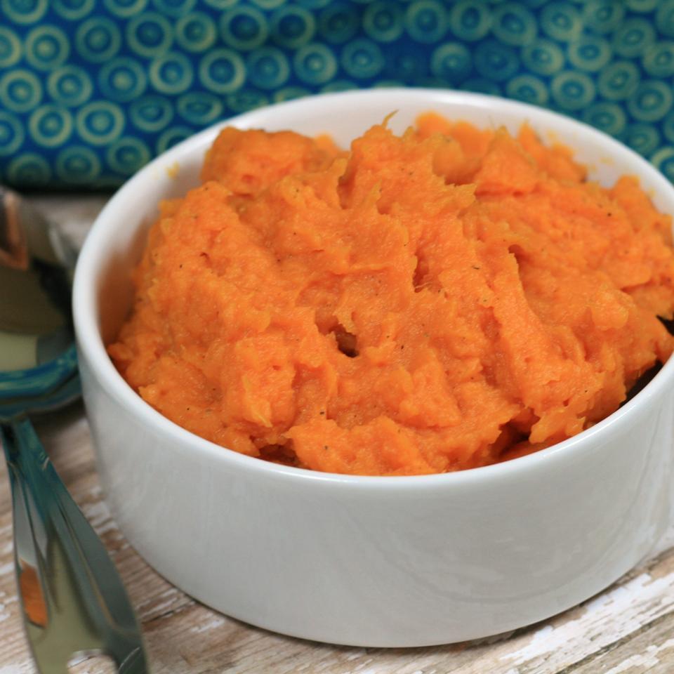 Truffled Mashed Sweet Potatoes