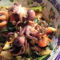 Octopus in Tomato Sauce daidai