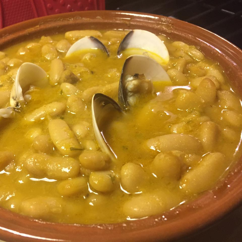 Asturian Beans with Clams