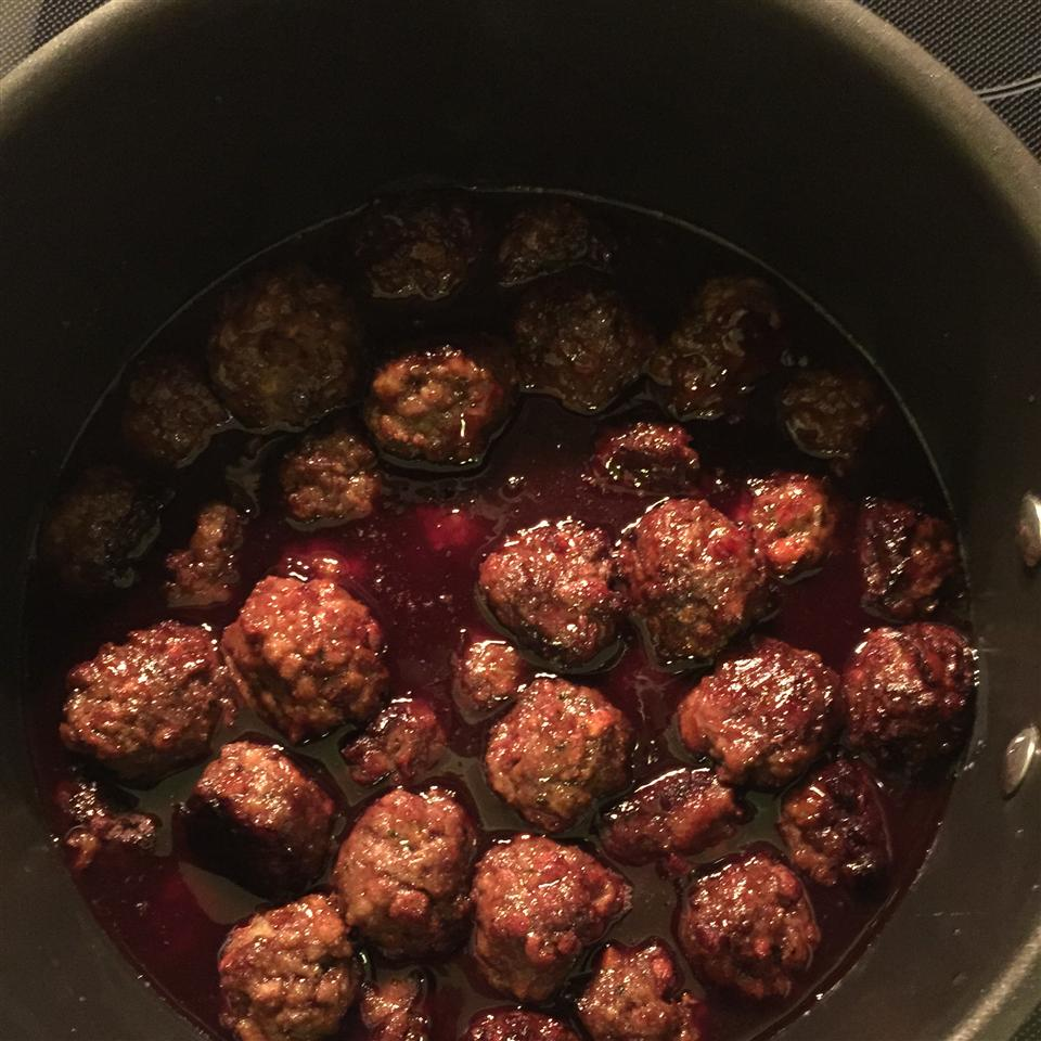 Classic Cocktail Meatballs Audrey