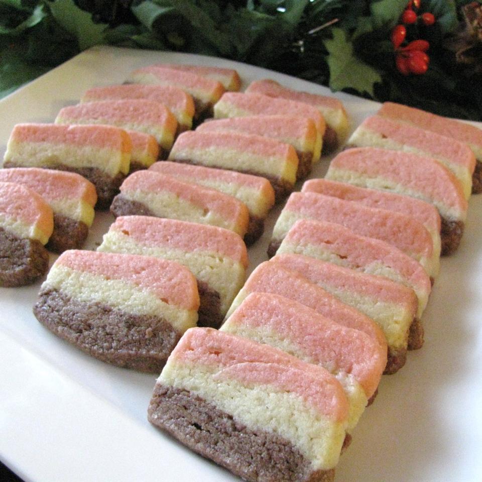 Neapolitan Cookies I