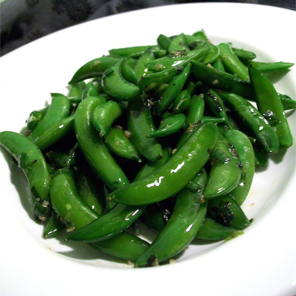 Sugar Snap Peas with Mint ORNERY