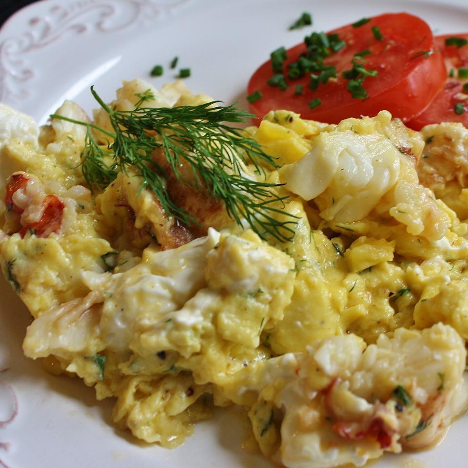 Lobster Scrambled Eggs naples34102