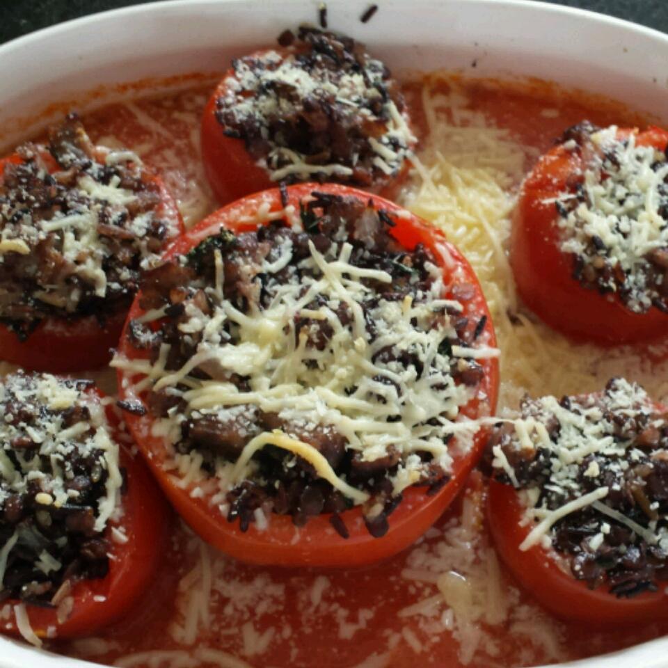 Lentil Stuffed Tomatoes Cindy
