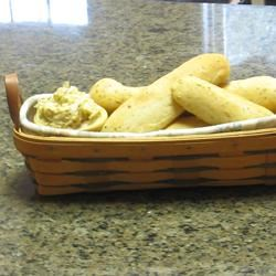 Soft Garlic Breadsticks