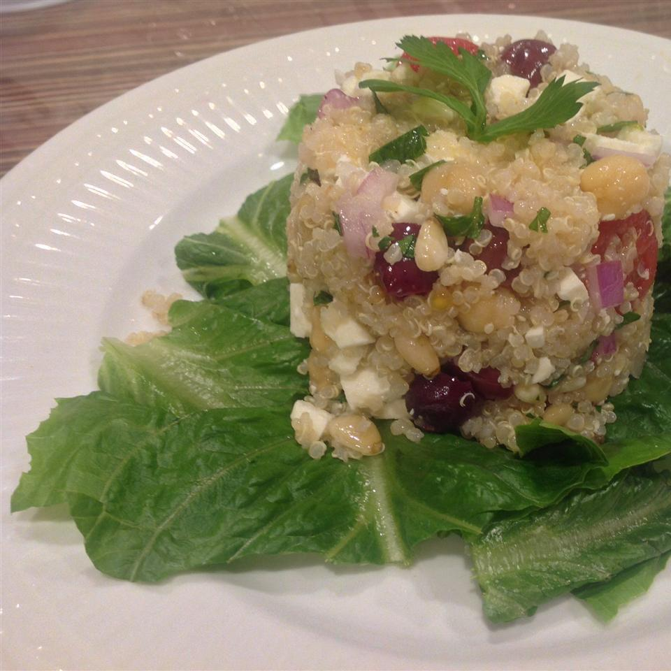 Greek Quinoa Salad Julie