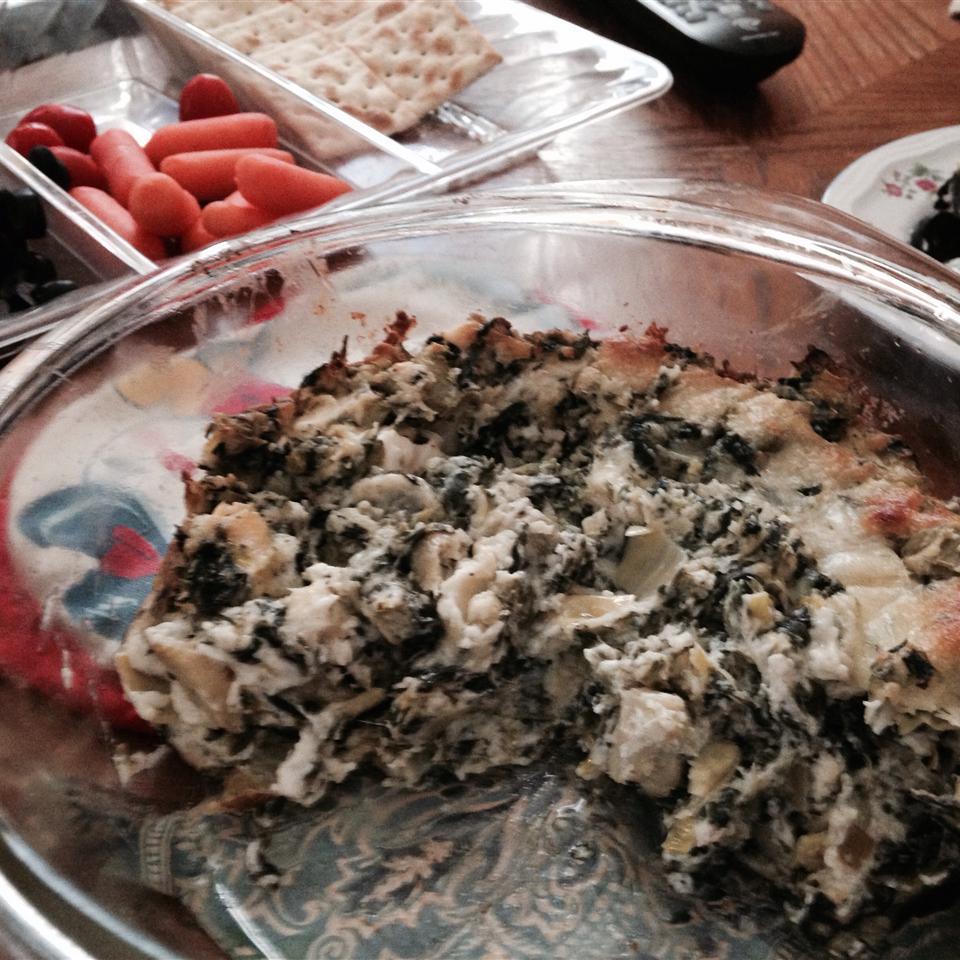 Chef John's Hot Spinach Artichoke Dip robindiamond316