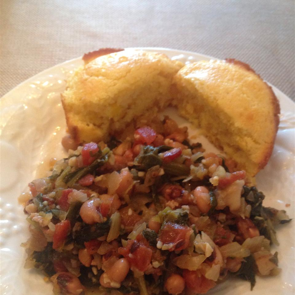 Collard Greens with White Beans adelleattached