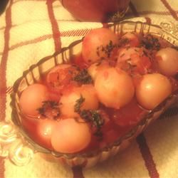 Radishes Simmered with Thyme