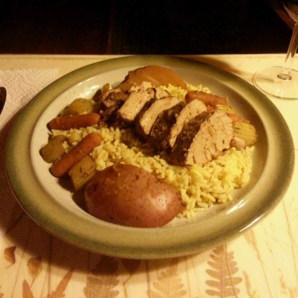 Amazing Pork Tenderloin in the Slow Cooker