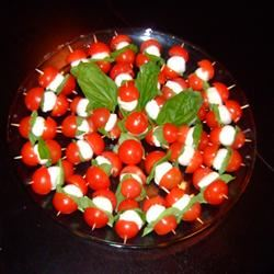 Tomato and Mozzarella Bites Karen Dean Covington