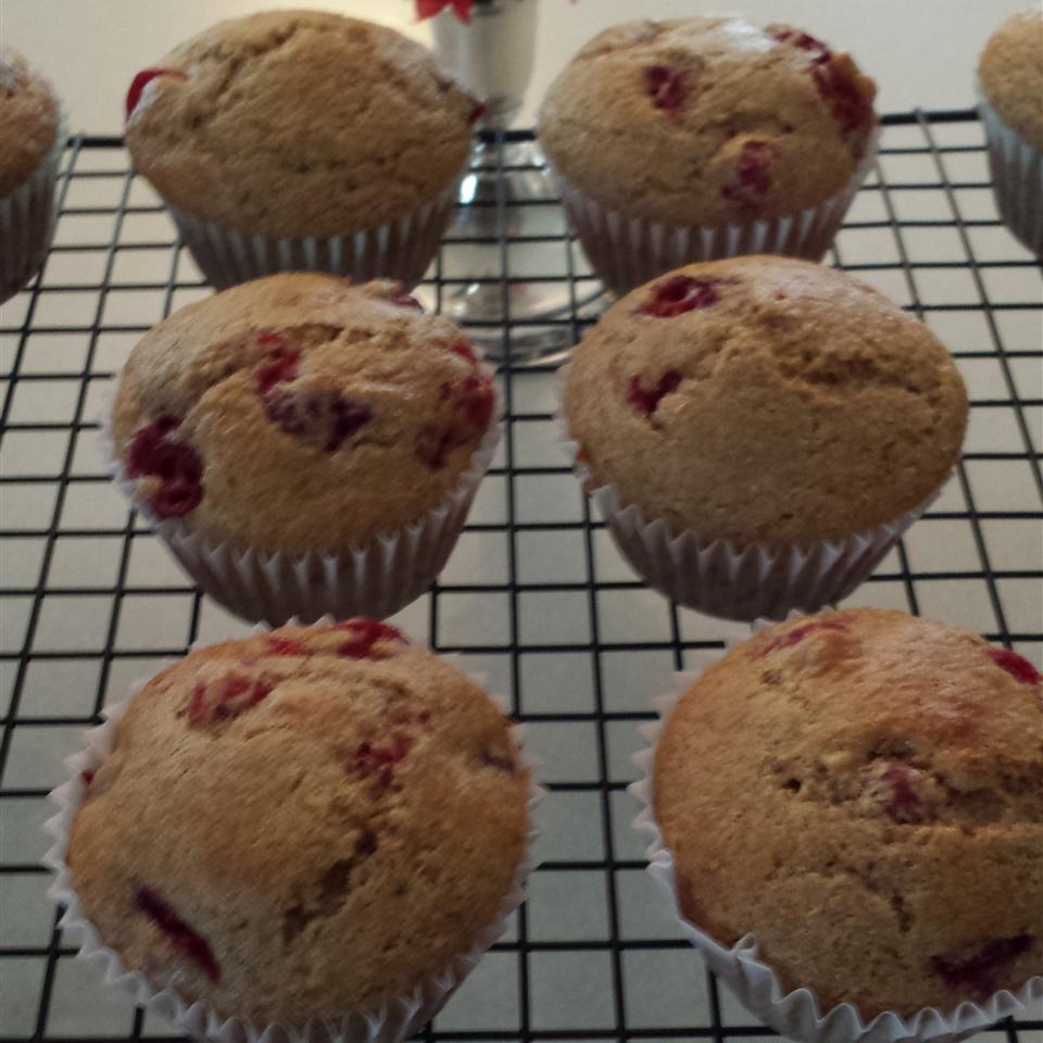 Lemon Cranberry Whole Wheat Muffins Barbara