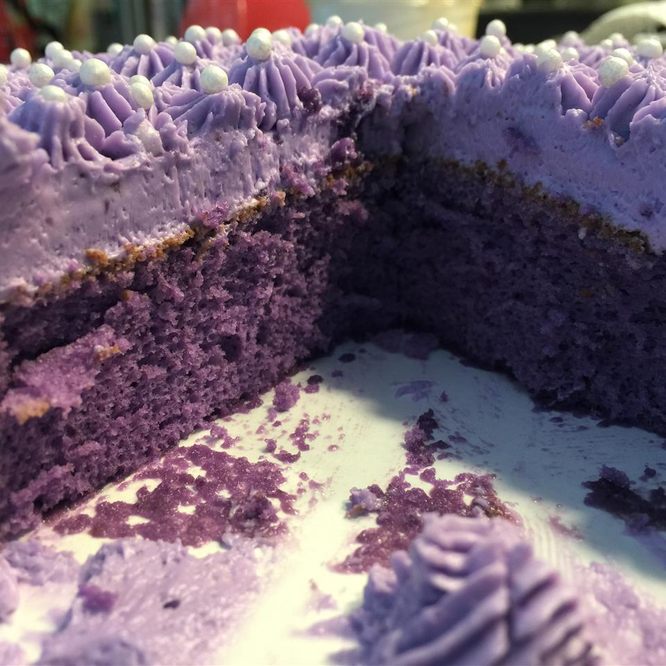 Ube-Macapuno Cake Jobie Queen