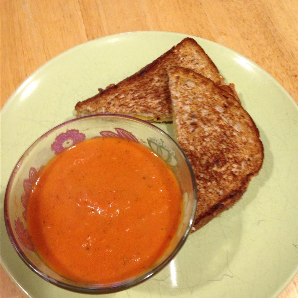 Tomato Basil Soup Elizabeth Martinez