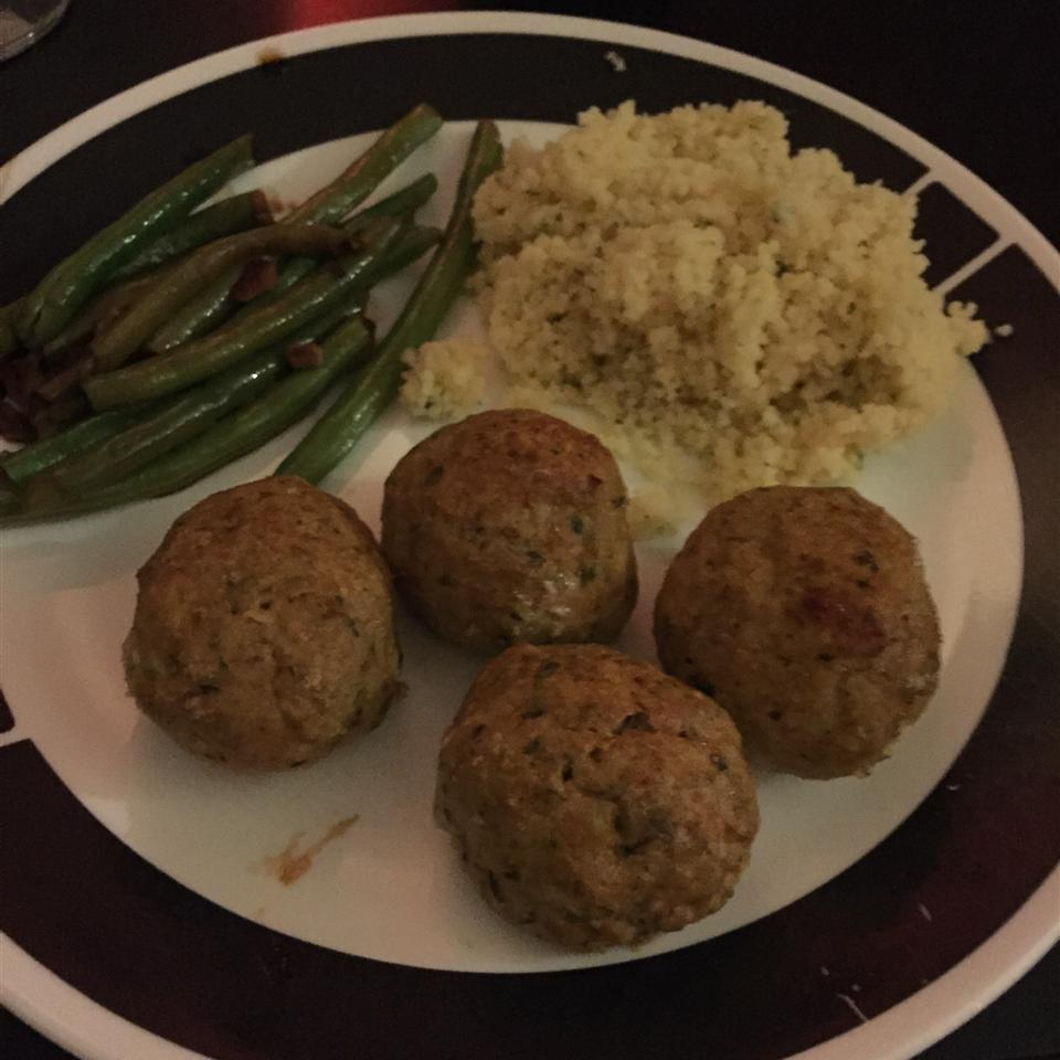 Tantalizing Turkey and Blue Cheese Meatballs cassbob1